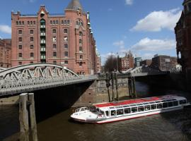 Hamburg offers great opportunity for spending your stag day on boat