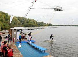 Try waterskiing and wakeboarding on your stag do in Hamburg